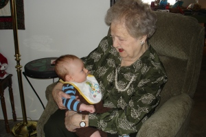 meeting great grandma